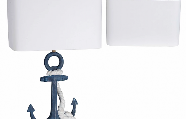 LPS Navy Anchor Lamp