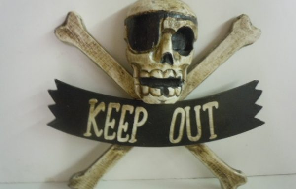 Sign – Skull and Cross Bones