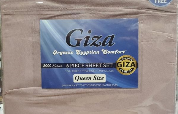 Giza Organic Cotton Sheets