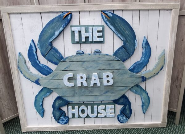 Wood Cut Crab