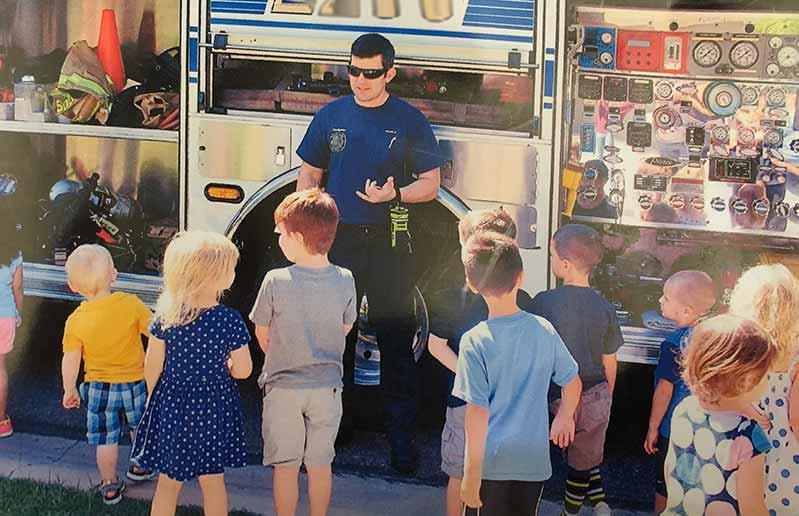GuitarMadeEZ - Justin Sours Firefighter Paramedic Photo