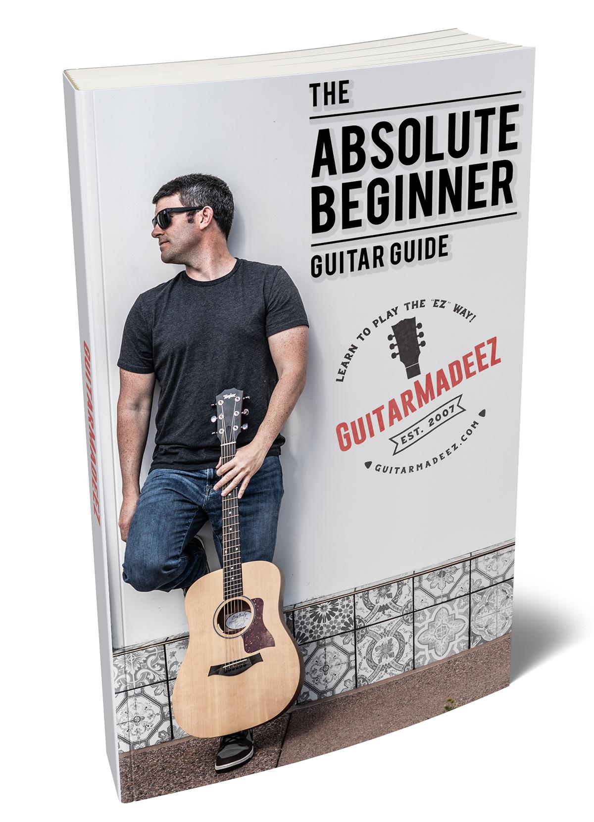 The Absolute Beginner Guitar Guide