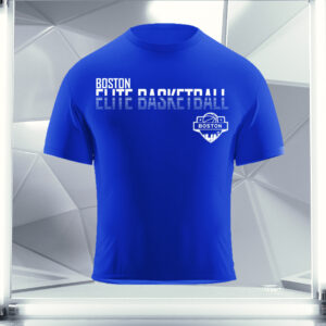 royal blue boston elite t-shirt