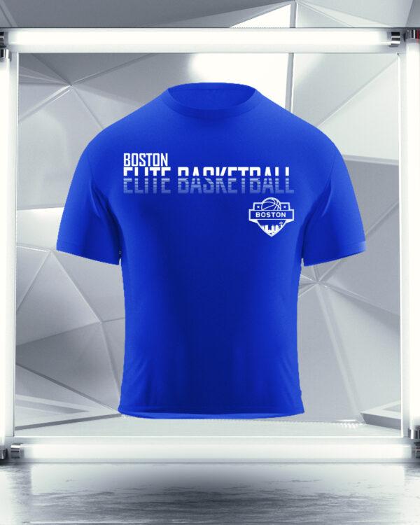 royal blue boston elite t-shirt