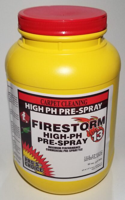 Firestorm Extreme Soil Cleaning