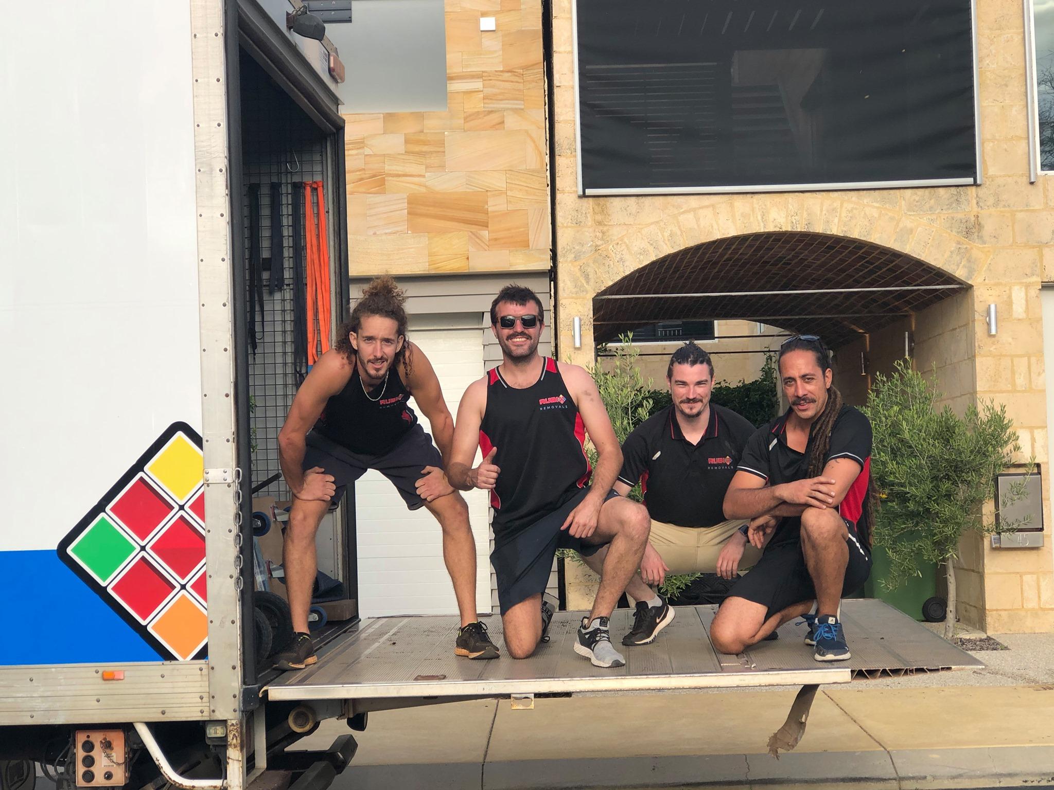 rubix removals team
