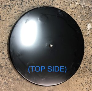 "Sidewinder 30"" brushdrive top side and under side"