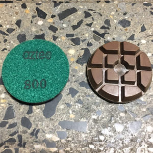 "800-grit 3"" Concrete Diamond Puck"