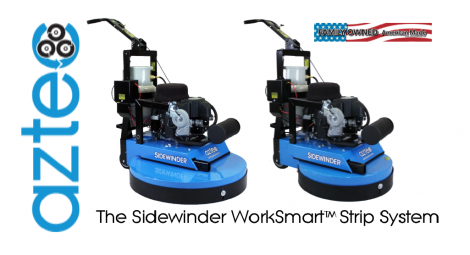 Aztec Sidewinder WorkSmart System for VCT Floors
