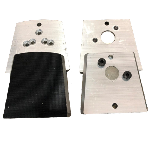 Magnetic and Velcro Plate Adapters for Installing Concrete Diamonds