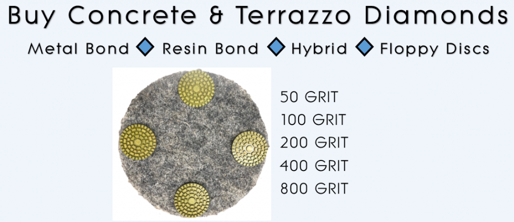 New High Performance Segmented Pads for Concrete and Terrazzo Floor Grinding, Honing, Refreshing and Polishing
