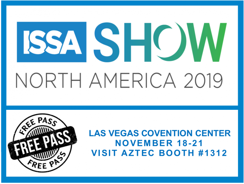 FREE ISSA Badges, compliments of Aztec Products