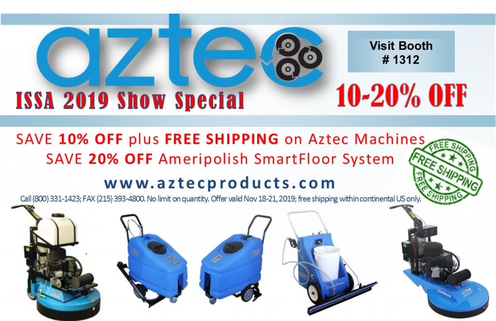 Aztec Product's ISSA Show Special 2019
