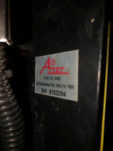 Refurbished Aztec Sidewinder 24 inch propane floor stripper SW 010 2394 - 2