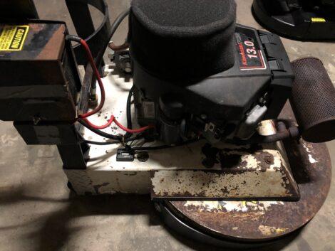 Refurbished Aztec Sidewinder 24 inch propane floor stripper SW 010 2394 - A