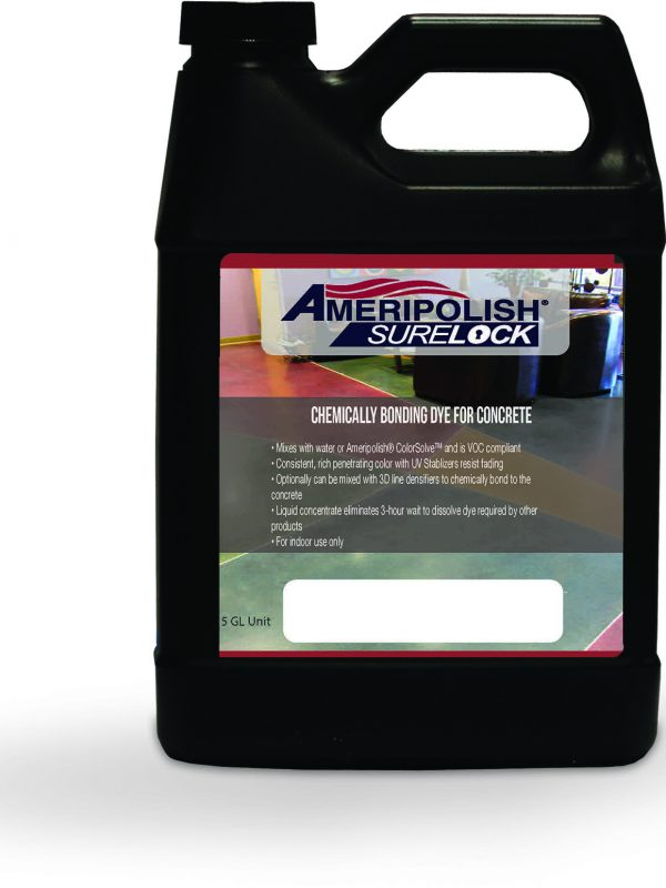 Ameripolish Surelock Dye 5 gallon