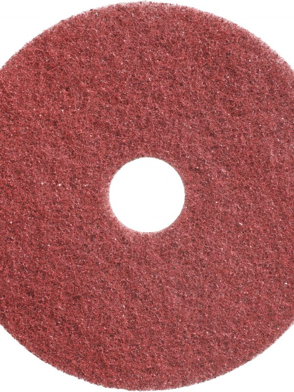 Red Twister Pad 400 grit for Deep Cleaning and Stripping