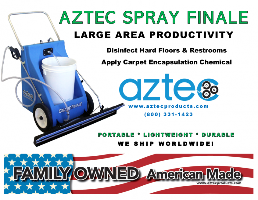 Aztec Spray Finale