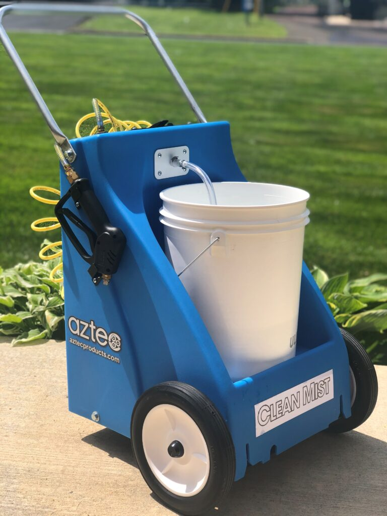 AZTEC CLEAN MIST - NEW Battery Powered Disinfecting Misting Machine for High Productivity Sanitation