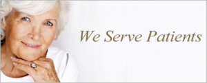 We Serve Patients