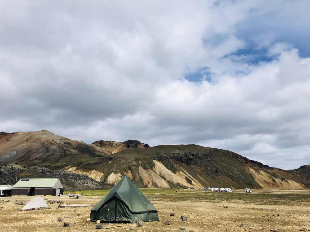 冰島露營|有種幸福就是一路睡在北緯66度的露營區