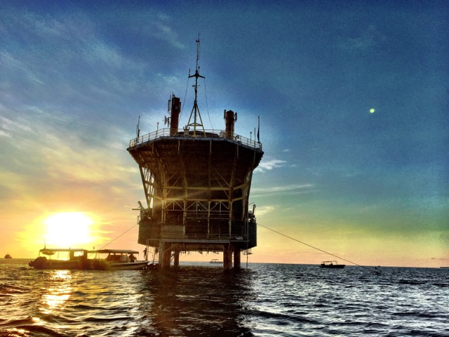 馬來西亞  sipadan  愛上seaventure dive rig /交通/住宿
