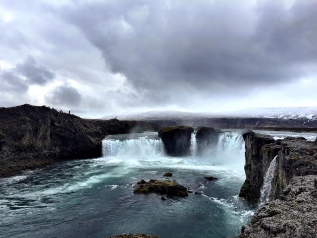11 冰島  逐冰之旅、環島冒險 自駕環島逐居而露7天6夜-驚呼上帝瀑布Godfoss+冰島馬相見歡(0603)