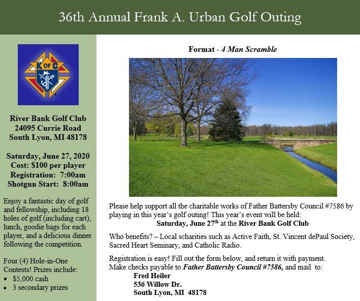 Frank golf