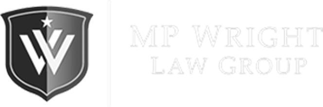 MP Wright LAW Group Logo in footer