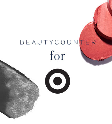 Beautycounter for Target