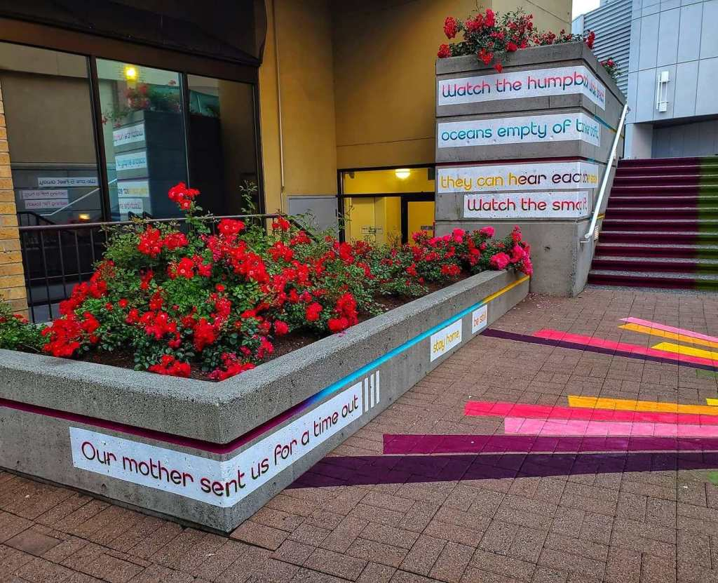One song staircase poetry