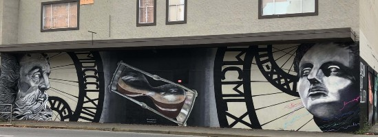 a me too themed mural