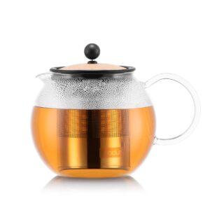 Tetera de émbolo y filtro metálico Bodum Assam corcho 0,5L
