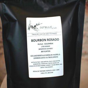 Café en grano Cafetto Prado Bourbon Rosado 250g