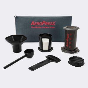 Cafetera Aeropress KIT Estuche y accesorios