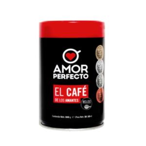 Café en grano Amor perfecto lata 300g (molido)