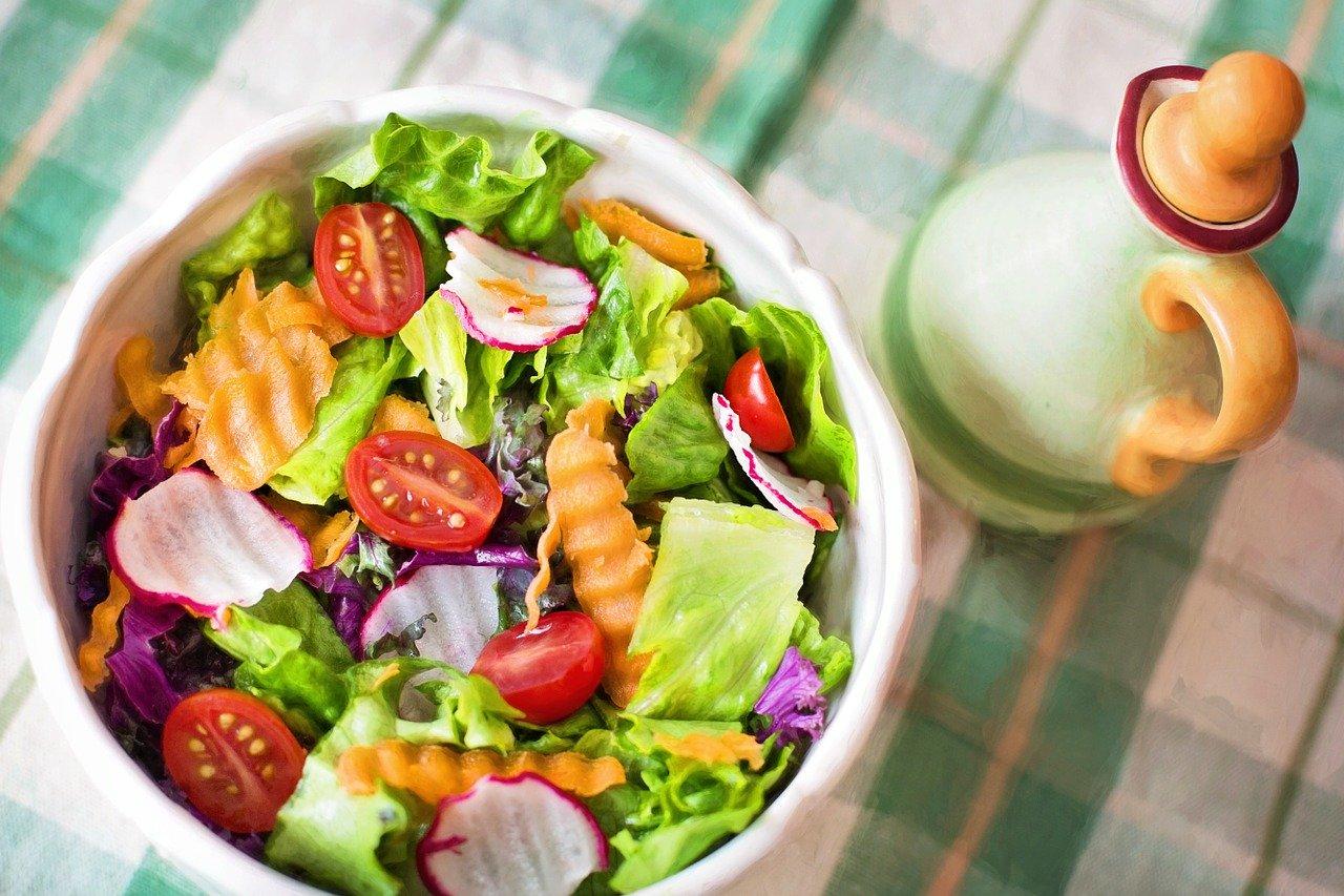 salad, fresh, veggies