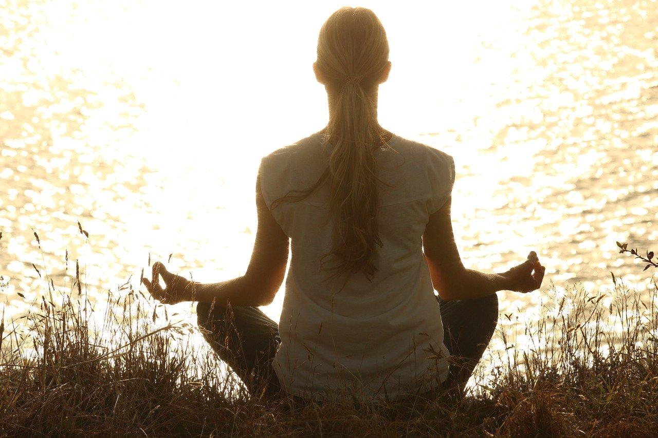 meditate, meditation, peaceful