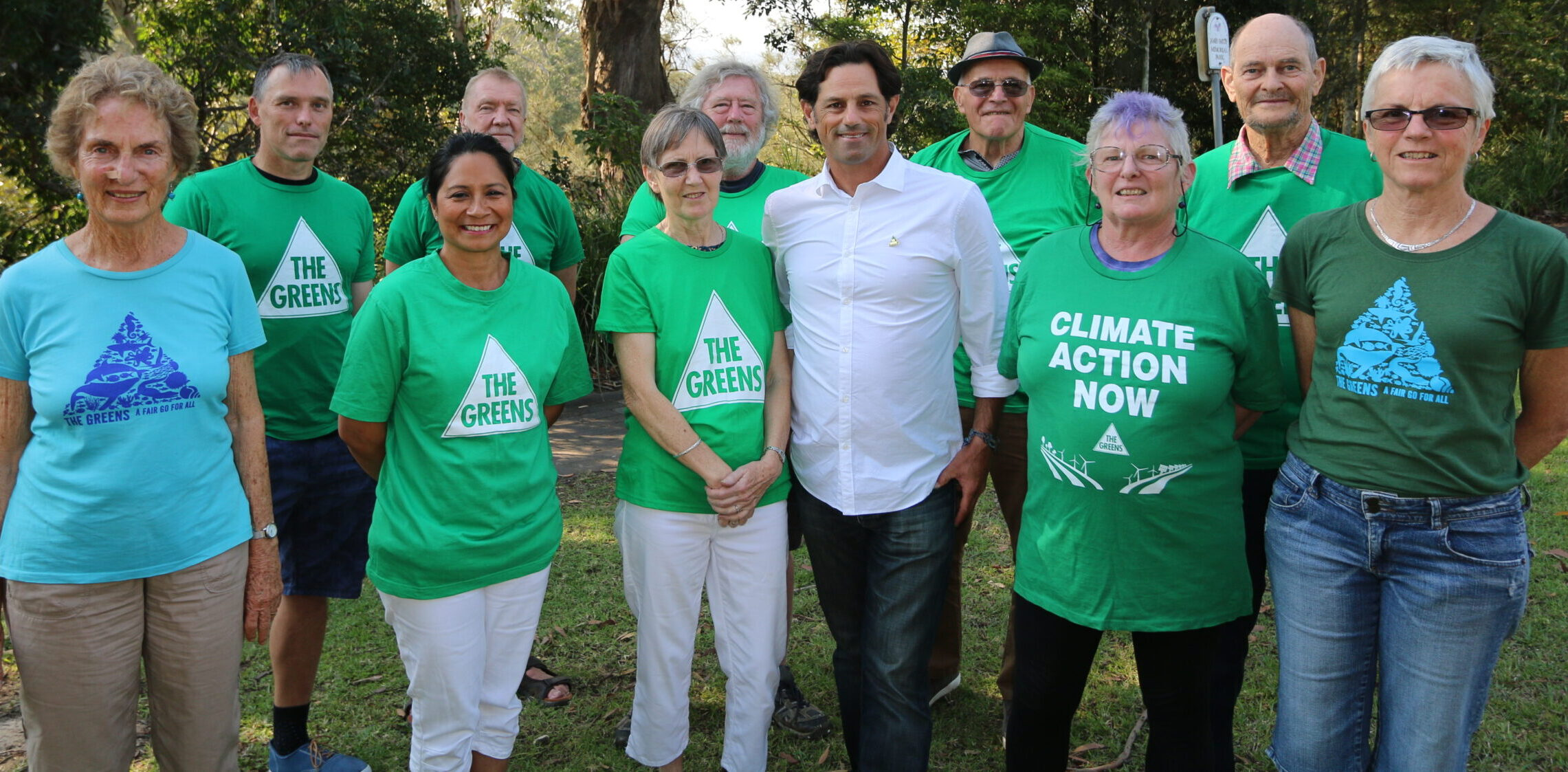 Coffs Harbour Greens Office Bearers and Supporters 2020