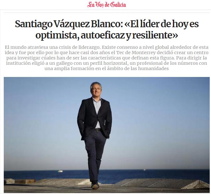 Entrevista – La voz de Galicia