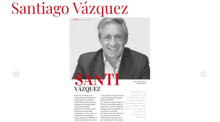 Entrevista – Revista VEINTE de Recursos Humanos