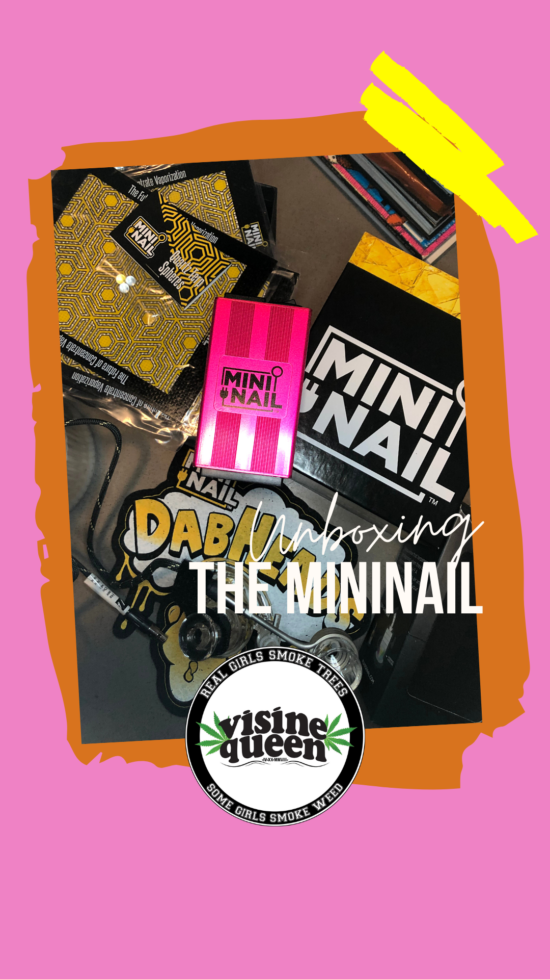 Unboxing TheMiniNail: Nail for Dabbing