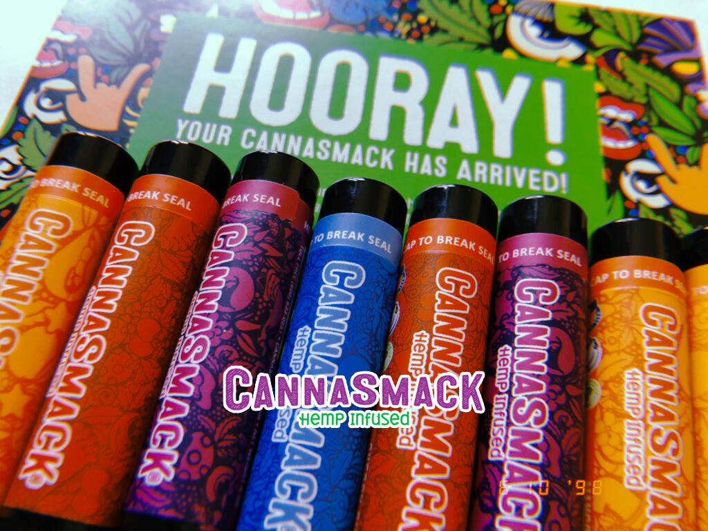 CannaSmack Lip Balm Collection