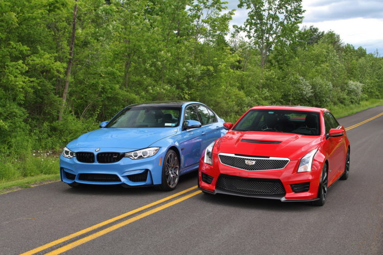Cadillac was flirting with BMW, Jaguar and Lexus on Valentine's Day