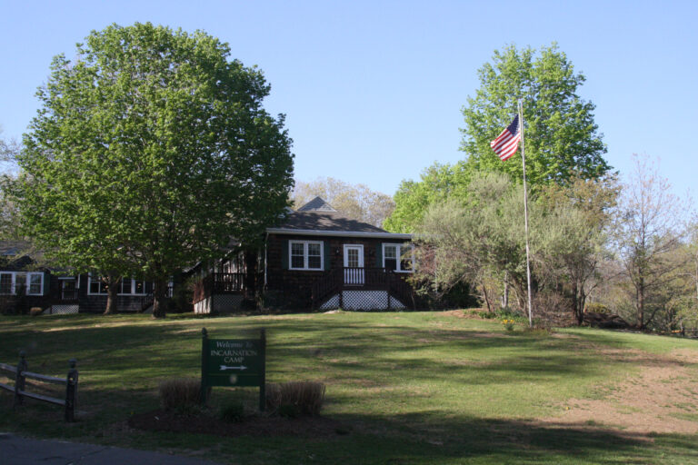 Front view of The Lodge