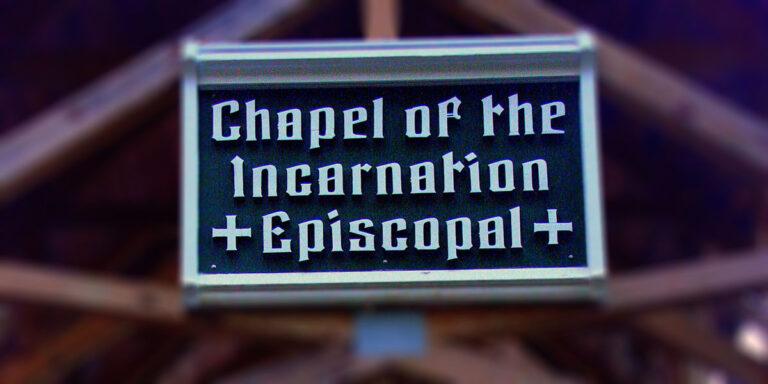 Outdoor Chapel Sign