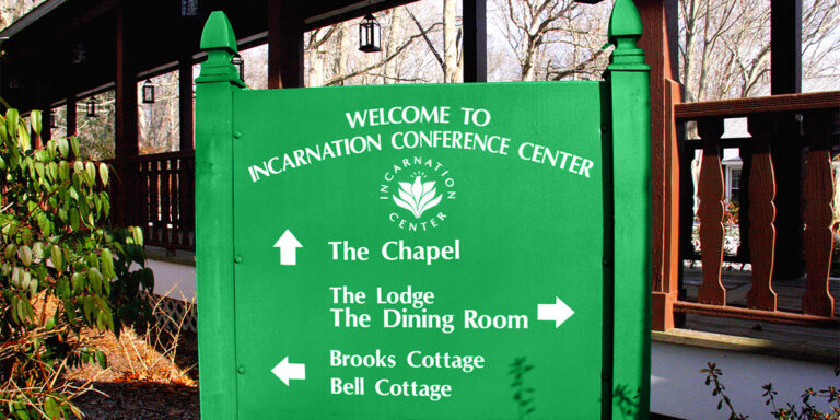 Conference Center Sign