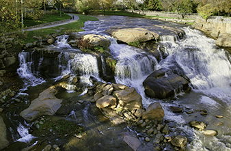 Falls at Falls Park - Greenville, SC