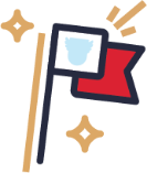 Icon: Leader flag