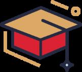 Icon: Graduation cap